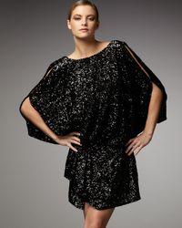 Mandalay | Black Cold Shoulder Sequin Dress | Lyst