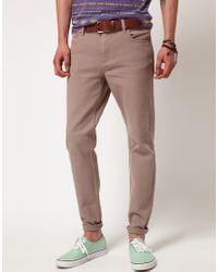 Cheap Monday Gray Cheap Monday Tight Skinny Jeans for men