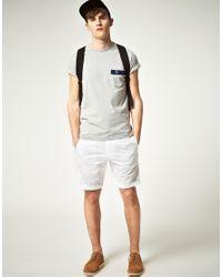 Original Penguin - White Original Penguin Chino Shorts for Men - Lyst
