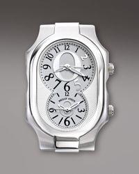 Philip Stein | Metallic Diamond Bezel Limited Edition Oprah Watch Head | Lyst