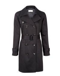 Precis Petite Black Trench Coat