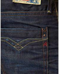 Replay | Billstrong Straight Leg Jeans Rinse Blue for Men | Lyst