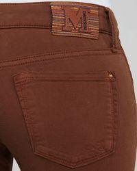 M Missoni Brown Skinny Jeans