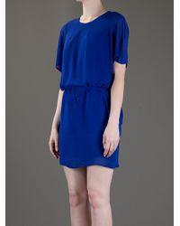 Acne Studios Blue Moreau Dress