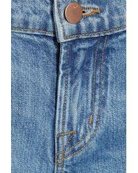 J Brand | Blue Aiden Distressed Boyfriendfit Jeans | Lyst