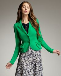 Nanette Lepore | Green No Contest Jacket | Lyst