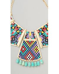 Noir Jewelry - Multicolor Hacienda Statement Necklace - Lyst