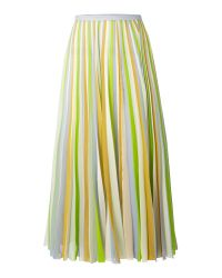 Whistles | Multicolor Cecile Stripe Skirt | Lyst