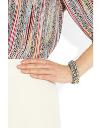 Aurelie Bidermann - Metallic Sante Fe 18karat Goldplated Bracelet - Lyst