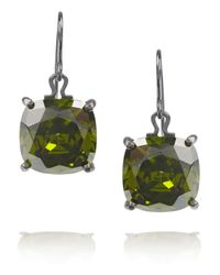 Bottega Veneta | Green Peridot Drop Earrings | Lyst