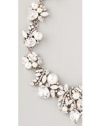 Erickson Beamon - Metallic White Wedding Necklace - Lyst