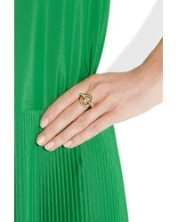 Giles & Brother - Metallic Archer Goldtone Ring - Lyst