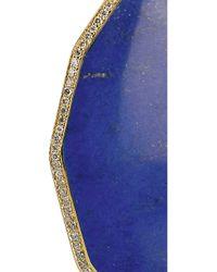 Ippolita - Blue Rock Candy 18karat Gold Lapis Lazuli and Diamond Earrings - Lyst