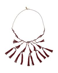 Isabel Marant | Metallic Cy Amp You Tasseled Necklace | Lyst