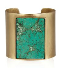 Kelly Wearstler | Metallic Turquoise Cuff | Lyst