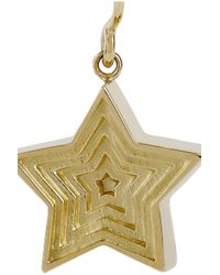 Solange Azagury-Partridge Metallic Star 18karat Gold Drop Earrings