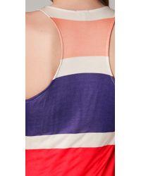 Splendid - Multicolor Block Stripe Maxi Dress - Lyst