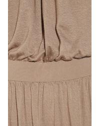 Tibi - Natural Jersey Maxi Dress - Lyst