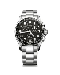 Victorinox | Metallic Men's Chrono Classic Chronograph Bracelet Strap Watch for Men | Lyst