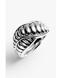 Lagos | Metallic Chi Chi Fluted Ring | Lyst