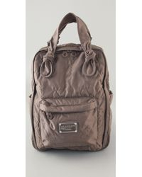 Marc By Marc Jacobs | Gray Pretty Nylon Core Knapsack | Lyst