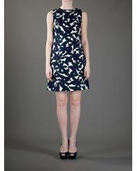 Marni Black Printed Sleeveless Dress