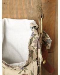 Free People - Brown Ranger Washed Bucket Bag - Lyst