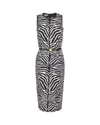 ae882129 Michael Kors. Women's Zebra Print Sheath Dress