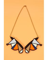 Nasty Gal | Black Shape Shift Necklace | Lyst