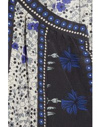 Rebecca Taylor | Multicolor Printed Silk Blouse | Lyst