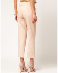 ASOS Collection - Pink Asos Trousers in Straight Leg - Lyst