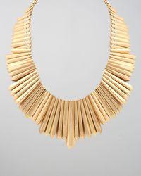 Belle Noel | Metallic Mini Dagger Collar Necklace | Lyst
