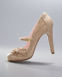 RED Valentino | Natural Vintage Mary Jane Pump | Lyst