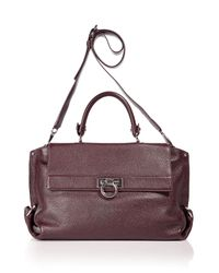 Ferragamo | Purple Sofia Safari Bag | Lyst