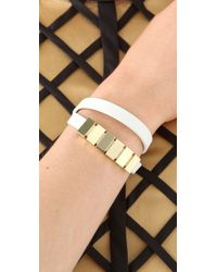 Sass & Bide - White The Abyss Cuff - Lyst