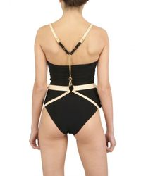 Bordelle Natural Leather Harness Underwear