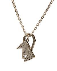KR3W - Metallic Kr3w Fang Necklace for Men - Lyst