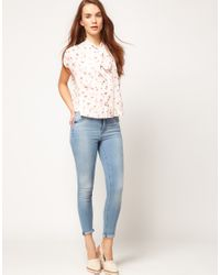 Ted Baker Natural Ted Baker Shirt with Flamingo Print
