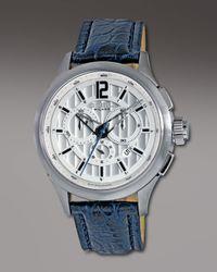 Breil | Blue 939 Chronograph Watch, Silvertone for Men | Lyst