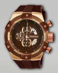 Brera Orologi | Black 48mm Supersportivo Watch for Men | Lyst