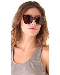 Karen Walker Brown Perfect Day Sunglasses