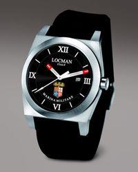 LOCMAN | Black Marina Militare Watch for Men | Lyst