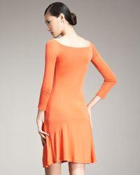 Ralph Lauren Black Label | Orange Varana Dress | Lyst