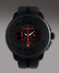 Tendence | 50mm Gulliver Chronograph Watch, Black for Men | Lyst
