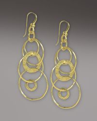 Ippolita - Metallic Glamazon Multi-link Jet-set Earrings - Lyst