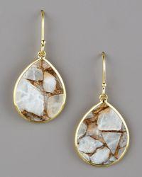 Ippolita | Metallic Small Teardrop Earrings, Calcite | Lyst
