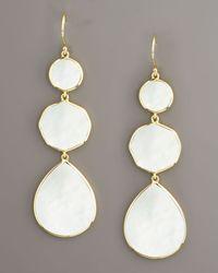 Ippolita White Gelato Mother-Of-Pearl Earrings