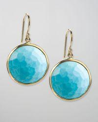 Ippolita - Blue Crystal Lollipop Earrings - Lyst