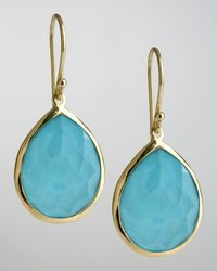Ippolita - Blue Turquoise Teardrop Earrings - Lyst
