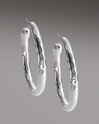 Ippolita | Metallic Glamazon Clip Hoop Earrings | Lyst